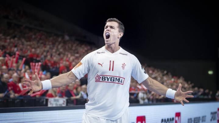 'Slået hjem igen': Ny knæskade til evigt uheldige Rasmus Lauge bekymrer håndboldekspert