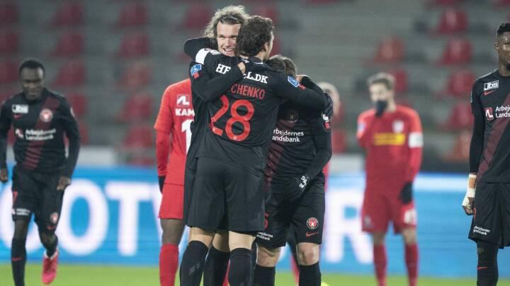 De danske mestre slutter året på toppen: Napper førstepladsen med sejr over FC Nordsjælland