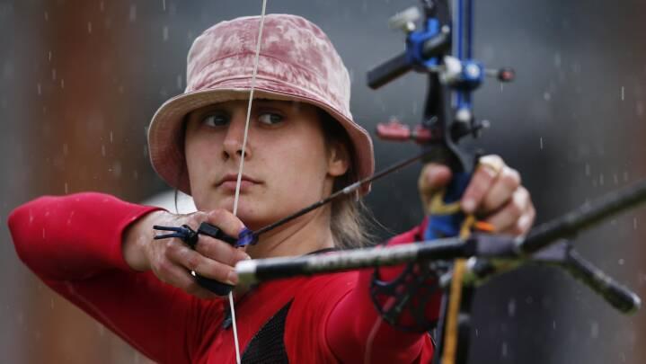 OL-håbet Maja Jager spændte buen i corona-år: 'Mine skud er blevet bedre'
