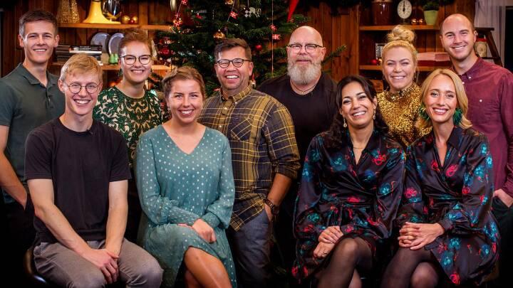 'Jeg føler, det var supertæt': Vinderpar overrasket efter sejr i Jule- og nytårsbagedysten