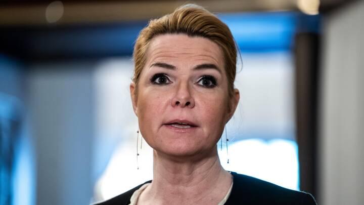 Støjberg overvejer sin fremtid efter den 'største mistillidserklæring' fra sin egen formand