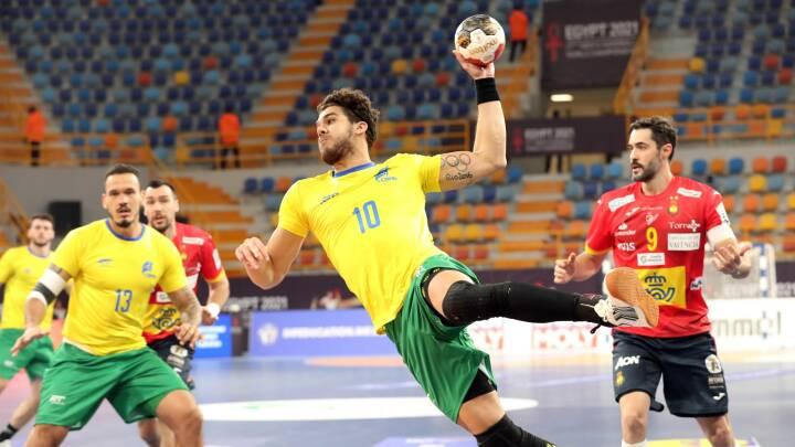 Hvem gør det smukkest? Sydamerikanere spiller eminent håndbold med ryggen til mål