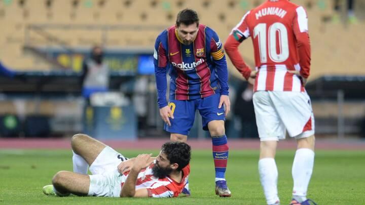 Verdensstjerne i krise: Messi slår ud efter modstander og ser rødt efter 'ren aggression'
