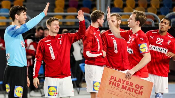 Eneste smittekilde i Danmarks VM-lejr er Hansen, Landin og Svans vilde vindermentalitet