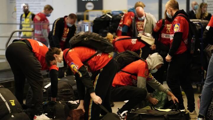 Spillerne snorkede om kap i flyet fra Kairo: 'Den mest underlige slutrunde nogensinde'