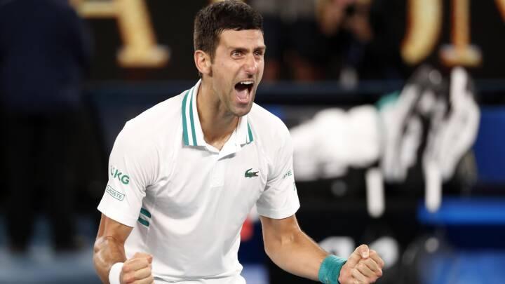 Australian Open-kongen Djokovic vinder sin 18. grand slam-titel