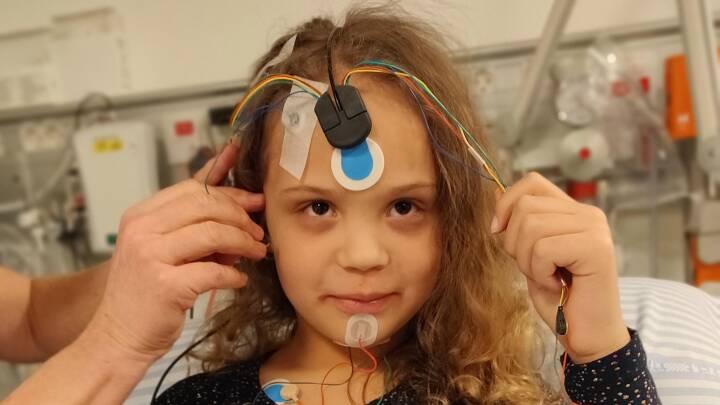Børn kan også lide af søvnapnø: 8-årige Victoria kunne ikke trække vejret om natten