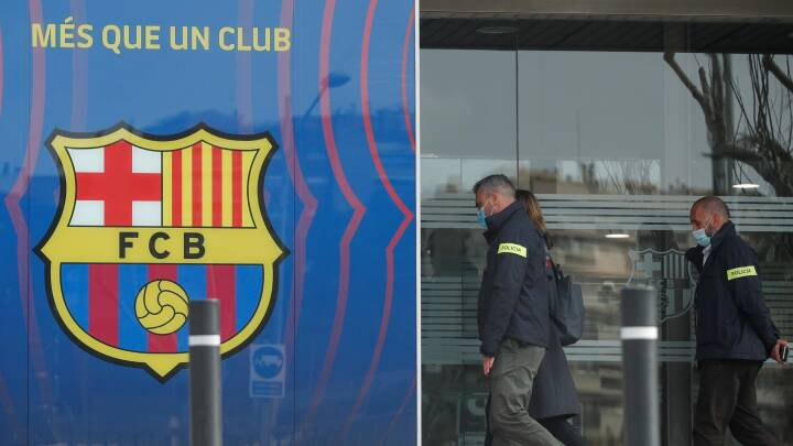FC Barcelonas kontorer ransaget med mistanke om økonomisk kriminalitet