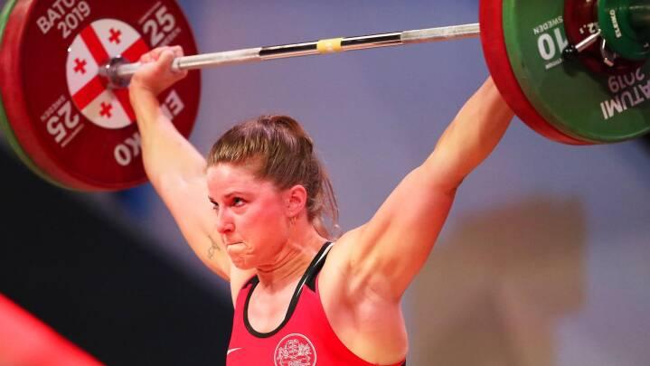 Kvindelig vægtløfter vil skrive dansk OL-historie: 'Det ville være kæmpestort'