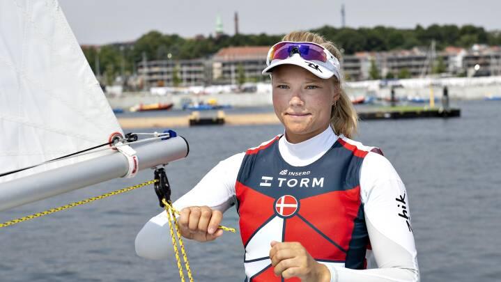Efter overtræning og coronasmitte er dansk OL-håb i mental medvind: 'Jeg har sejlet på et helt vildt niveau'