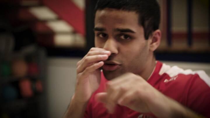 Ilias flyttede alene til Vollsmose som 16-årig: 'Hvis jeg ikke havde haft boksning, var jeg sandsynligvis endt i problemer'