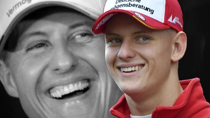 Michael Schumachers søn var med på fatal skitur: Nu ærer han farmand inden sin egen Formel 1-debut