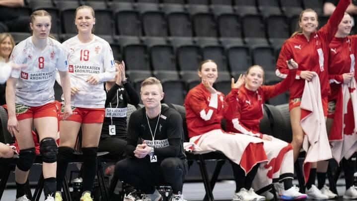 Landstræneren får endelig tid på træningsbanen med håndboldkvinderne: 'Det skal nok blive rigtig godt over tid'