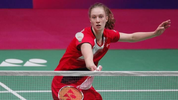 Dansk badminton-komet er i finalen ved sit første EM: 'Jeg ved ikke, om det er gået op for mig'