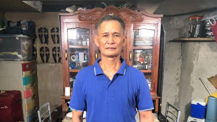 Efter ophold i dansk containerlejr er Diosdado vendt tilbage til Filippinerne: 'Vi blev behandlet som dyr'