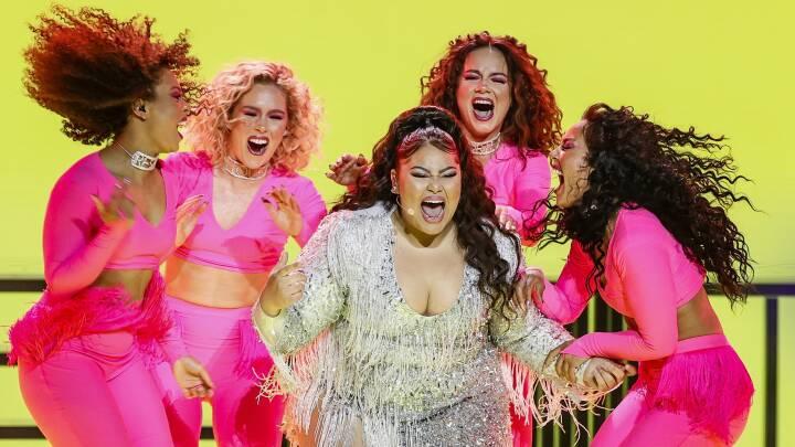 Alle favoritterne videre til Eurovision-finalen