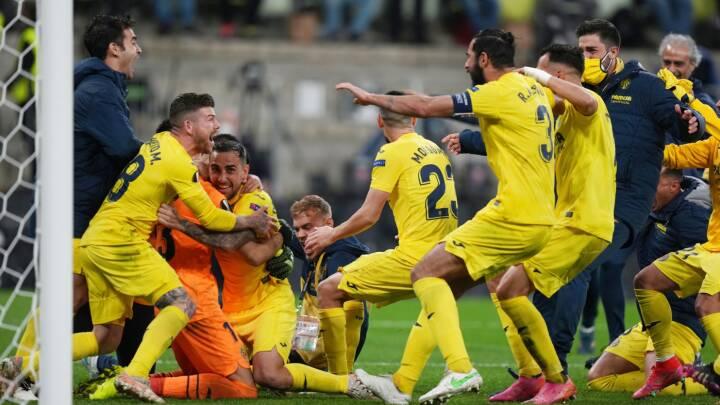 Villareal vinder Europa League efter vildt drama med 22 straffespark
