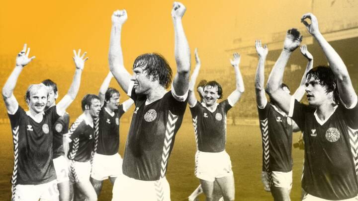 En regnvåd aften for 40 år siden gav Lerby, Arnesen og Elkjær os det landshold, vi alle drømte om