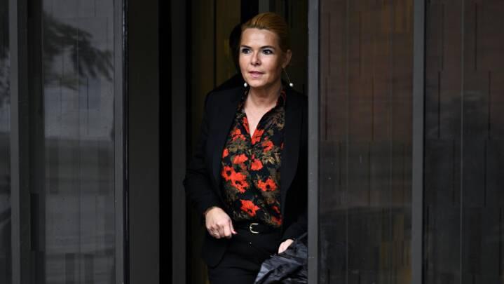 LIVE Indledende møde i rigsretssagen mod Inger Støjberg