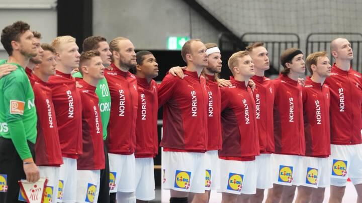 Håndholdherrerne lignede sig selv, da svenskerne blev slået i OL-generalprøven