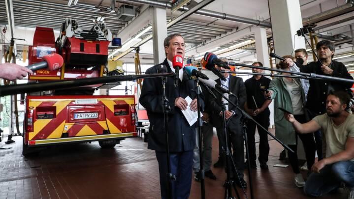 Gummistøvle-valgkamp: Oversvømmelser kan (igen) afgøre tysk valg