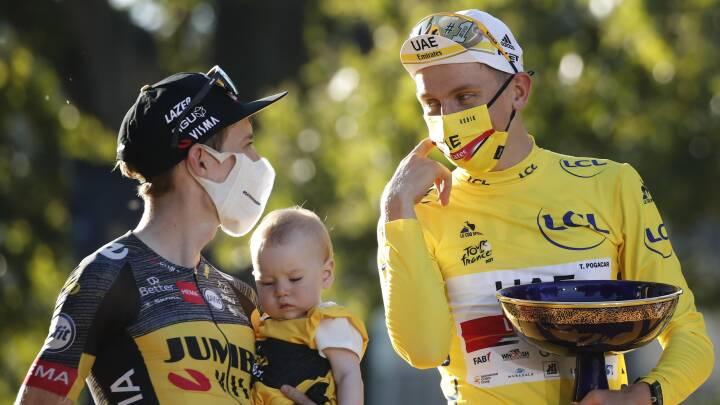 Jonas Vingegaard bliver nummer to i sit allerførste Tour de France: 'Det er bare svært at forstå'