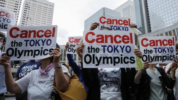 Tilskuertomt Tokyo og tennisafbud: Få overblik over kaotisk OL-optakt