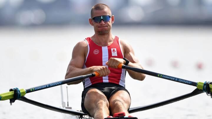 Færøsk roer tager hul på det danske OL med sikker sejr