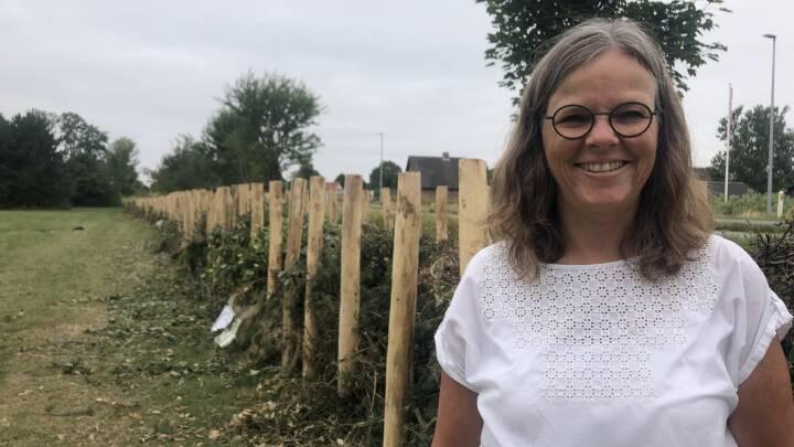 Odder Kommune bygger landets længste haveaffaldshegn