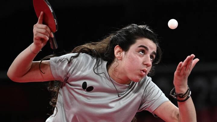 Fra Damaskus til Tokyo: 12-årig bordtennisspiller blev den yngste OL-atlet i årtier