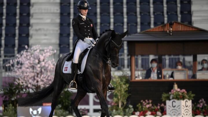 'Vildt godt' ridt af dansk OL-debutant giver udsigt til dansk plads i dressurfinale