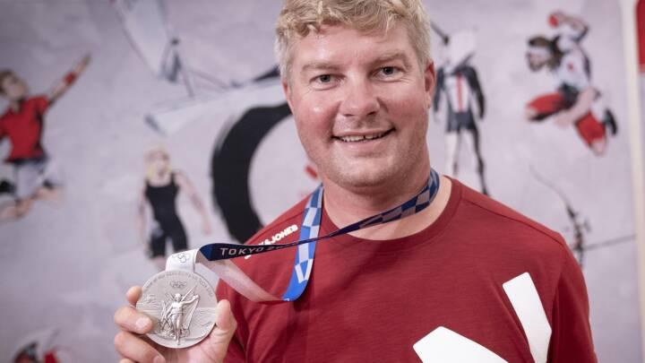 Jesper Hansen byttede 'helvede' ud med sølvmedalje: 'I morges tænkte jeg ikke, at det var realistisk'