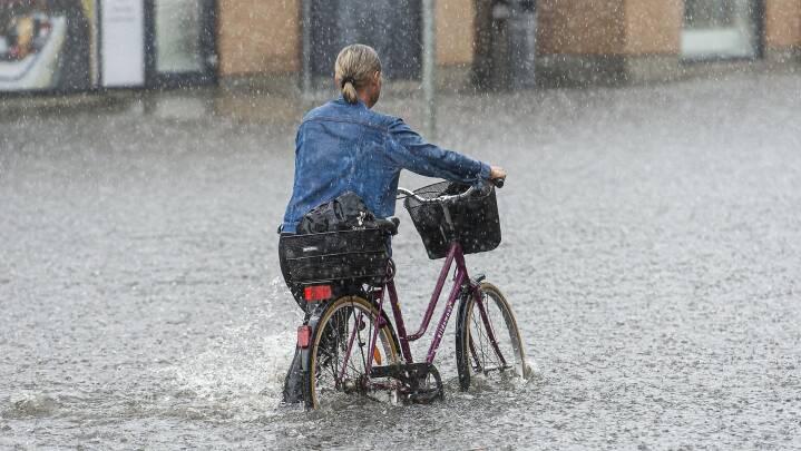 Den varme og tørre danske sommer er sat på standby - nu kommer vestenvindssommeren