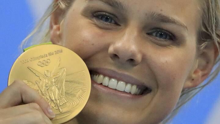 'Det var et kæmpe chok' da Blume vandt guld i Rio: Gense det her, inden hun i nat skal i guldforsvar