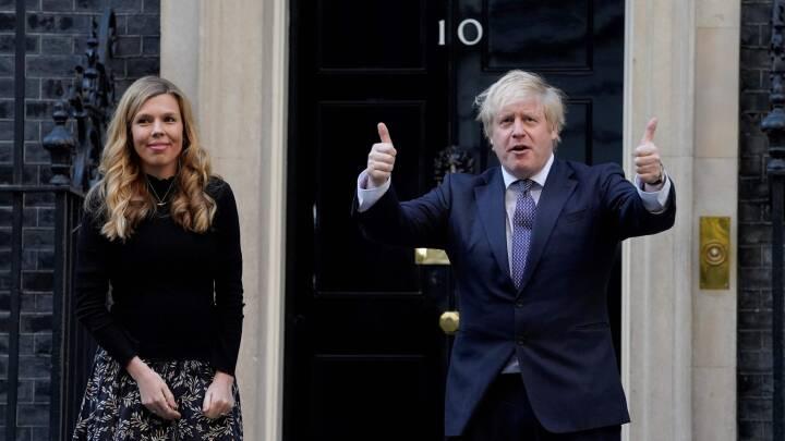 Boris Johnson skal være far igen