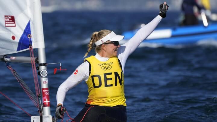 Guld til Danmark: Anne-Marie Rindom triumferer i Laser Radial