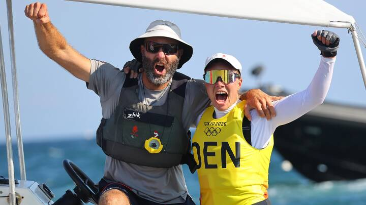 Anne-Marie Rindom er olympisk mester: Drama på vandet sikrer dansk guldmedalje