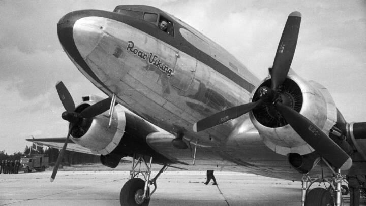 Se de historiske billeder: SAS fylder 75 år