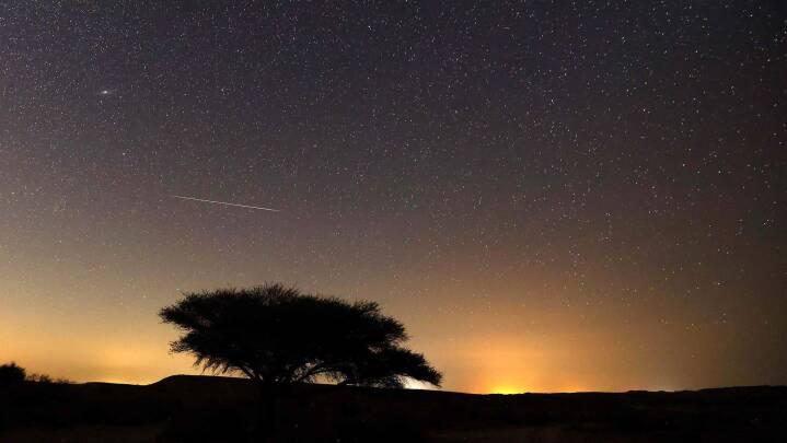 Se billederne: Sådan blev nattehimlen oplyst af stjerneskudsregn