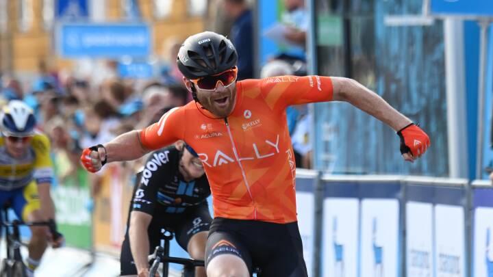 Amerikanske Joyce udnytter dansk defekt og vinder fjerde etape af PostNord Danmark Rundt