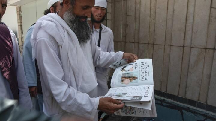 Taliban-krigere læser dansk dameblad - er flyttet ind på Danmarks og Norges ambassader