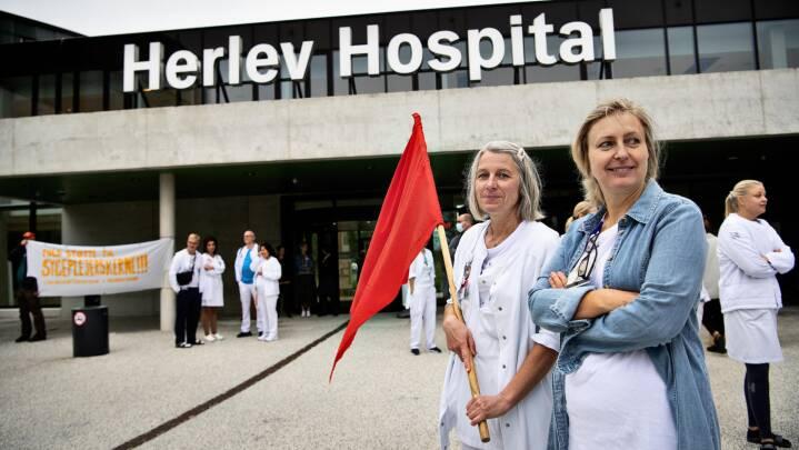 Sygeplejersker trodser Arbejdsretten og nedlægger igen arbejdet - starter alternativ strejkekasse