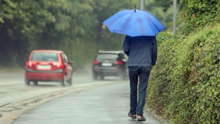 Vejret i dag: Onsdag kan give os halvdelen af septembers regn