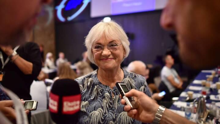 Pia Kjærsgaard holder mulighed for comeback som formand åben