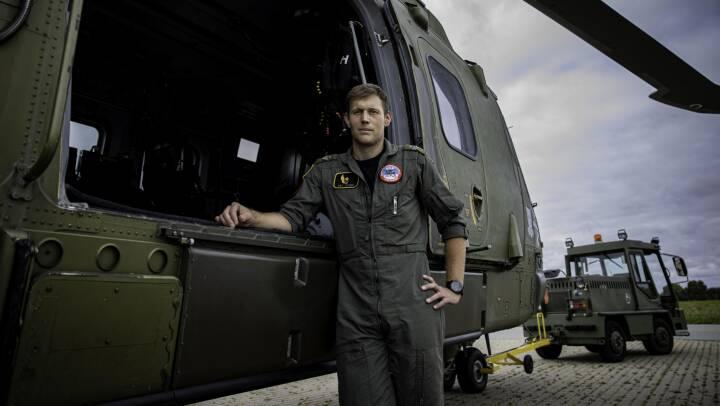 Helikopter-redderen Jonas fik travlt, da alle skulle holde ferie i Danmark
