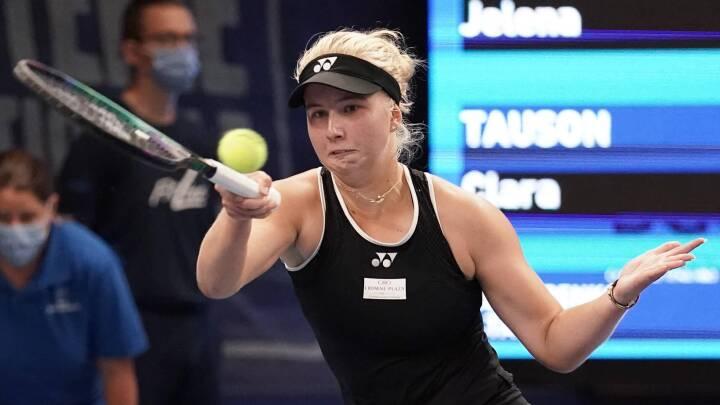 Clara Tauson vinder WTA-turneringen Luxembourg Open