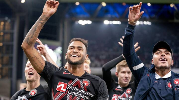 FCM's ti mand slår FCK og overtager Superligaens førsteplads