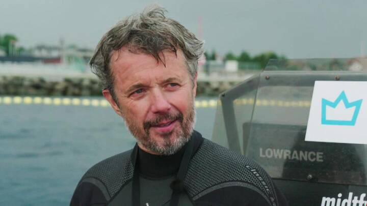 Kronprins Frederik indvier ambitiøst, dansk undervandsprojekt - og du kan være med
