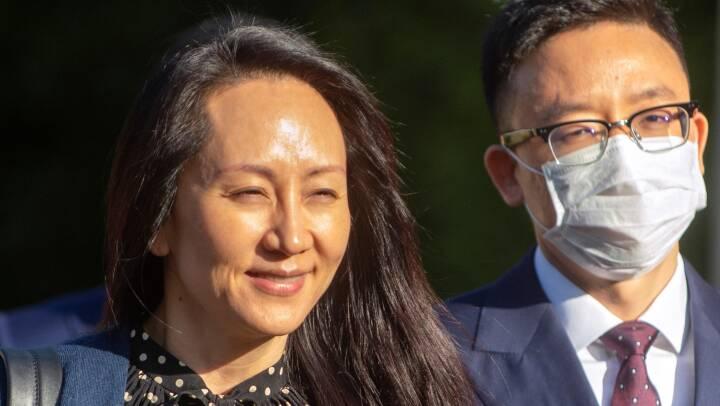 USA lader Huawei-chef rejse hjem