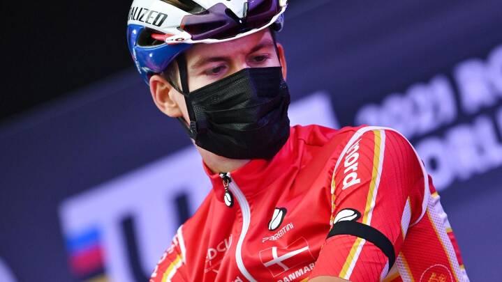 Danske VM-ryttere kører med sørgebind for at ære Chris Anker Sørensen